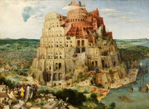 Pieter Bruegel the Elder's The Tower of Babel (1563)